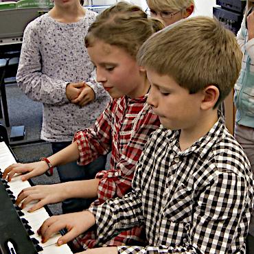 Kurs muzyki dla dzieci od 6 do 8 roku życia